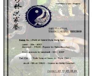 Shaolin hung gar besancon