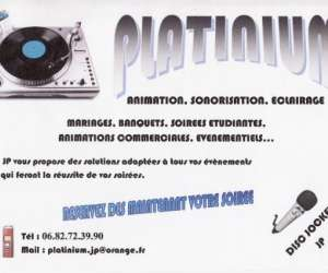 Platinium animation sonorisation