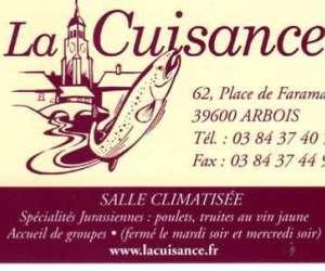 Restaurant la cuisance franche comté,arbois,jura