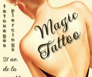 Magic tattoo piercing