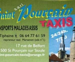 Saint pourçain taxis