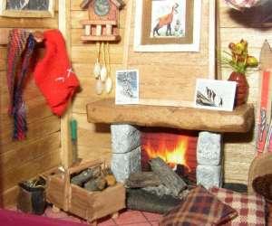 Bettimi  vitrines miniatures  , maisons de poupées, min