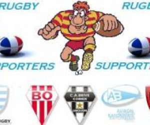 Rugby supporter