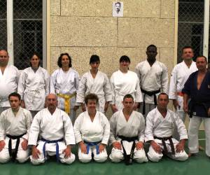 Karate self-defense al chanteranne