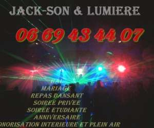 Disco mobile jack-son & lumiere