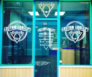 Custom concept piercing shop