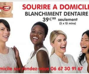 Sourire a domicile - blanchiment dentaire a domicile