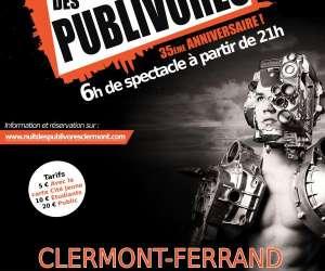 Nuit des publivores clermont ferrand