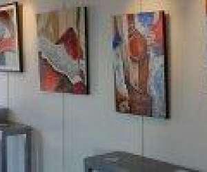 Espace culturel la croix blanche à thiers - expo-artist
