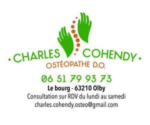 Charles cohendy osteopathe d.o.
