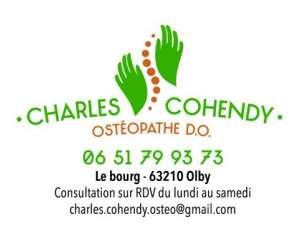 Charles cohendy osteopathe d.o.