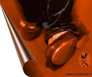 Metal tap claquettes