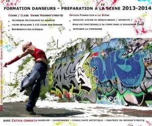 Formation danseur - préparation à la scène - danse mode