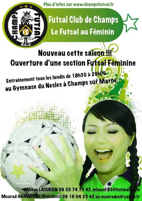 Futsal Club De Champs A Champs Sur Marne 77420 Telephone