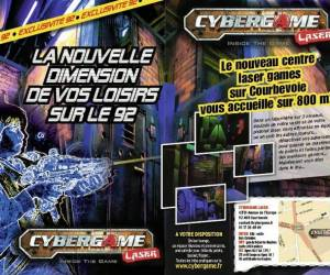 Cybergame laser games