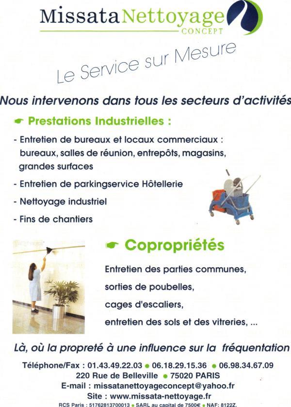 missata nettoyage concept paris 20eme arrondissement. Black Bedroom Furniture Sets. Home Design Ideas