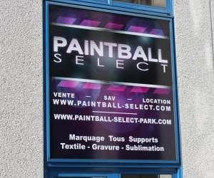 Paintball select