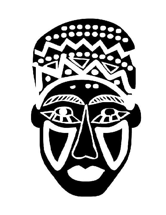 Zumba danse africaine orientale th atre djemb - Dessin de masque africain ...