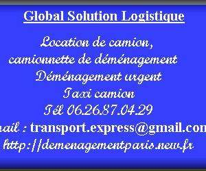Global solution logistique