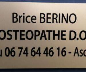 Brice berino osteopathe d.o. à neuilly-les sablons