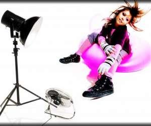Studio photos bain de lumière