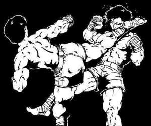 Kick boxing / boxe thai / full contact