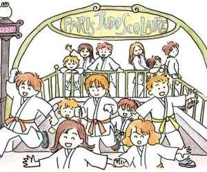 Paris judo scolaire