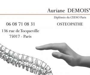 Auriane. demoisy  osteopathe