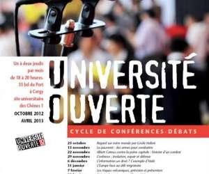 Université ouverte : conférence-débat