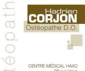 Hadrien corjon ostéopathe
