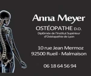 Anna meyer osteopathe d.o