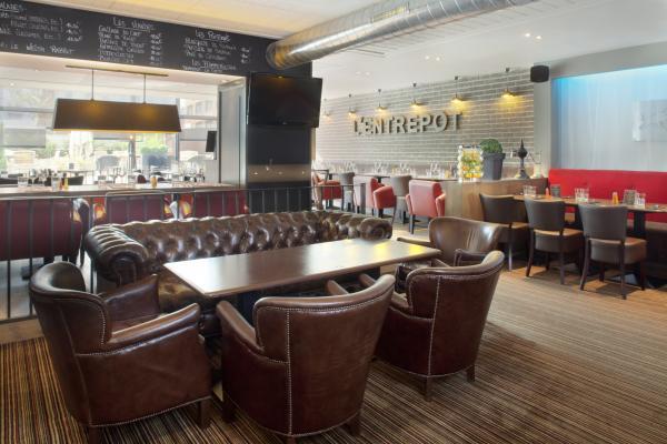 restaurant l 39 entrep t villette paris 19eme. Black Bedroom Furniture Sets. Home Design Ideas