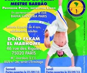 Bahia capoeira paris