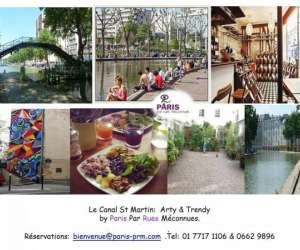 Paris par rues meconnue -