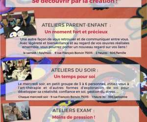 Les ateliers creer ensemble