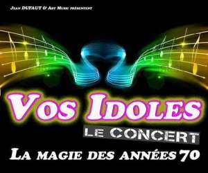 Art music - spectacle vos idoles les années 70