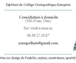 Yann pelhate - ostéopathe à domicile