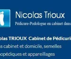 nicolas trioux : podologue à arpajon
