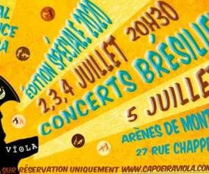 Festival Émergence capoeira et concerts brÉsiliens