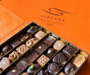 Servant chocolat