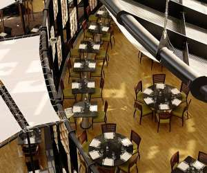 Restaurant apollo, hyatt regency paris-charles de gaull