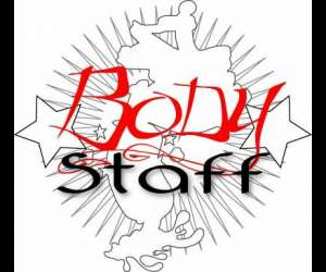 Body staff tattoo
