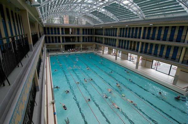 Piscine champerret htels paris possdant une piscine with for Piscine armand massard aquagym