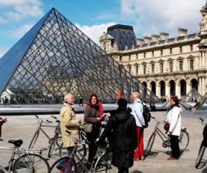 Paris à vélo, c