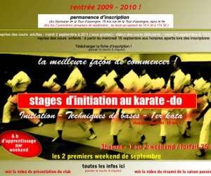 "Karate  ""cercle parisien du shotokan"""