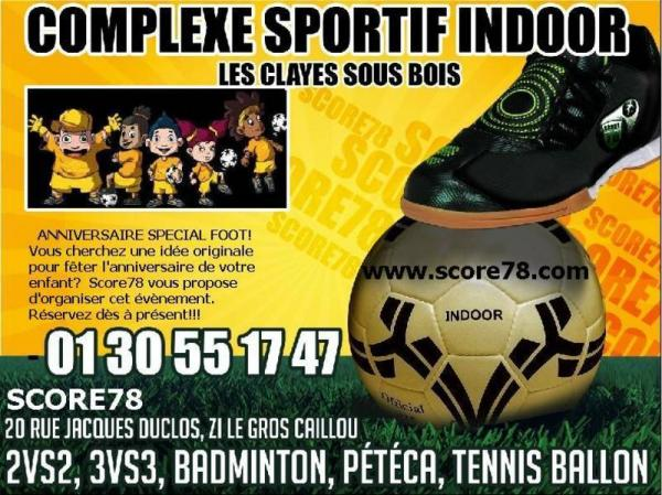 Anniversaire foot e salle 78 yvelines à Les clayes sous  ~ Salle De Sport Les Clayes Sous Bois