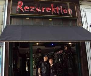 Rezurektion boutique gothique punk métal