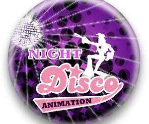 Night disco animation