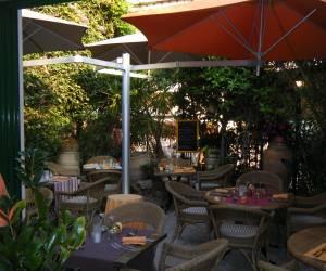 Brasserie côté jardin