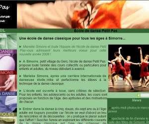 Ecole de danse petit pas marieke simons